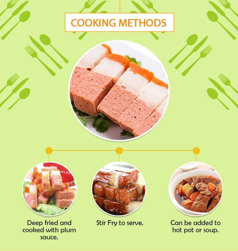 Veg. Stewed Red Pork - 素红烧肉 (200g)-161