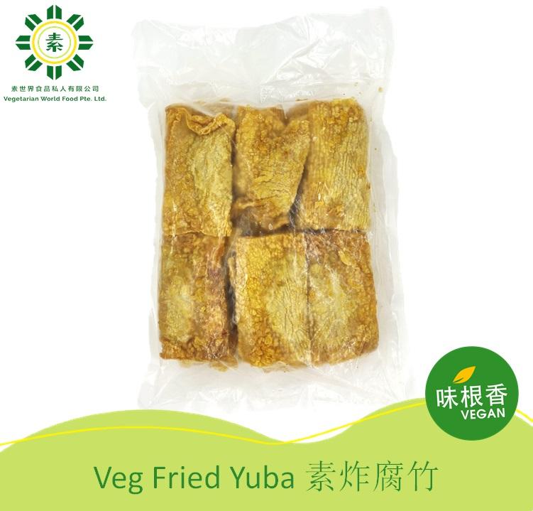 Vegan Fried Yuba 素炸腐竹 (30Pcs) (550G)-2763